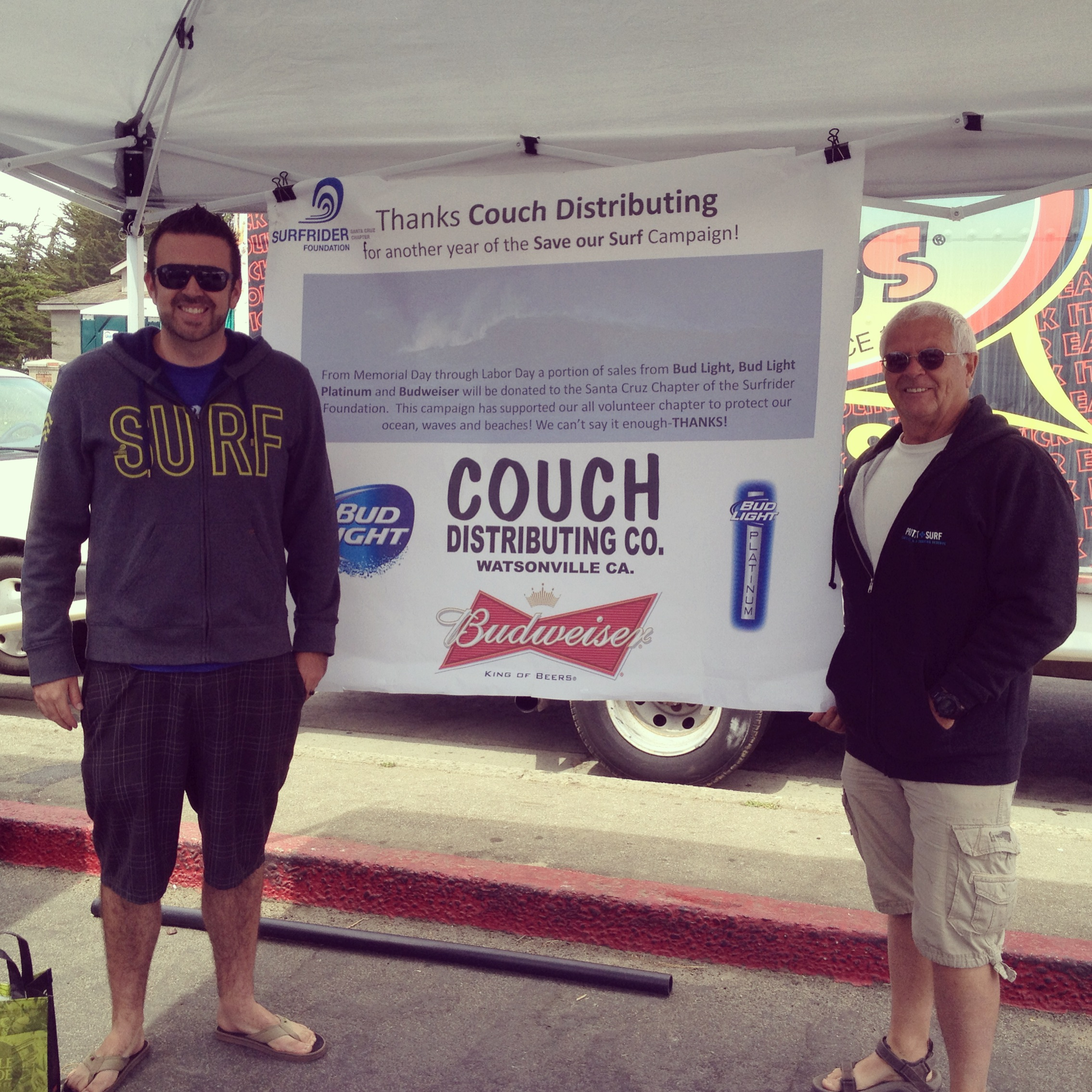 For The 18th Consecutive Year Couch Distributing Sponsored Our Save Surf Program Started In 1996 By Local Distributor Of Anheuser Busch Beers And