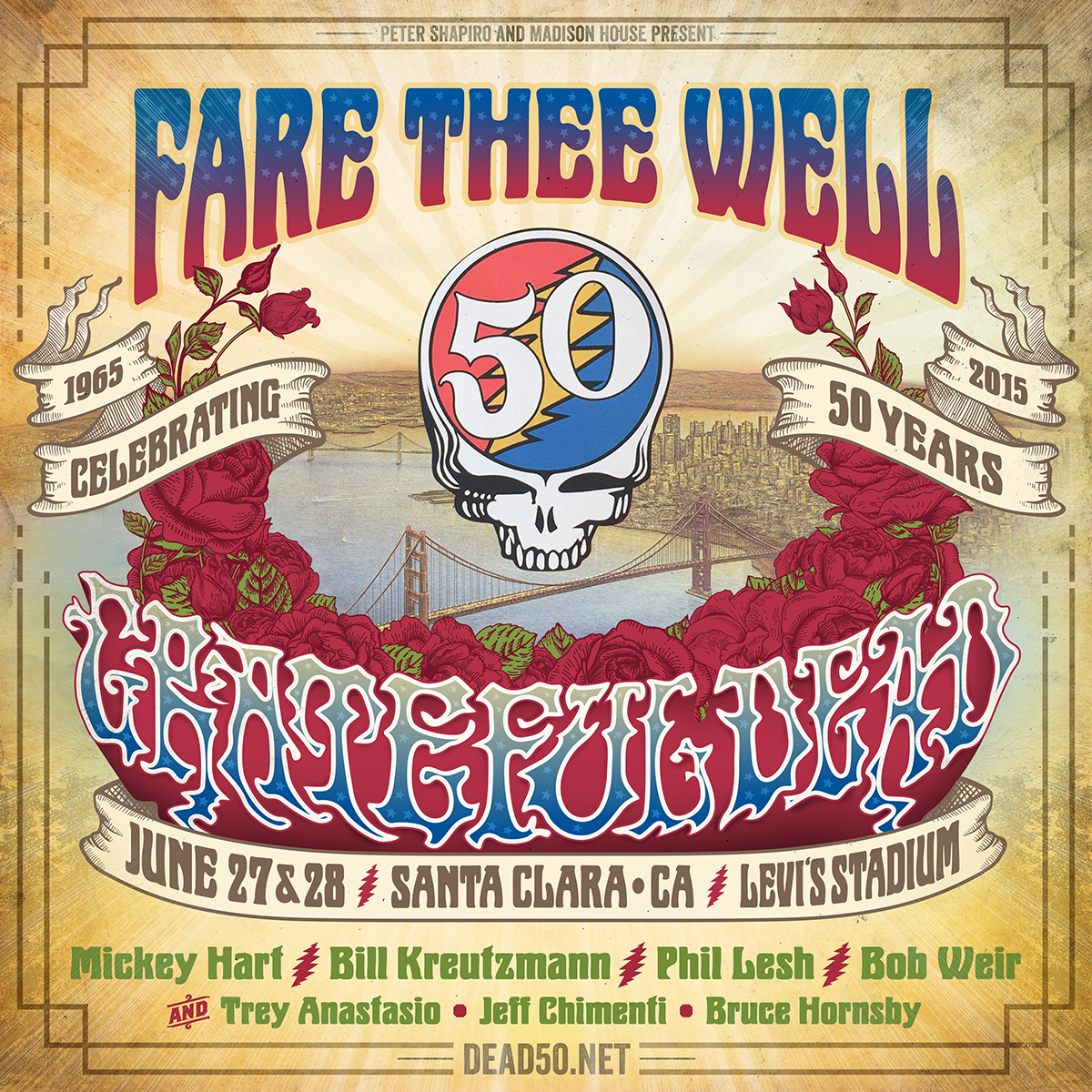 Fare Thee Well – Santa Clara: Celebrating 50 Years of The Grateful Dead