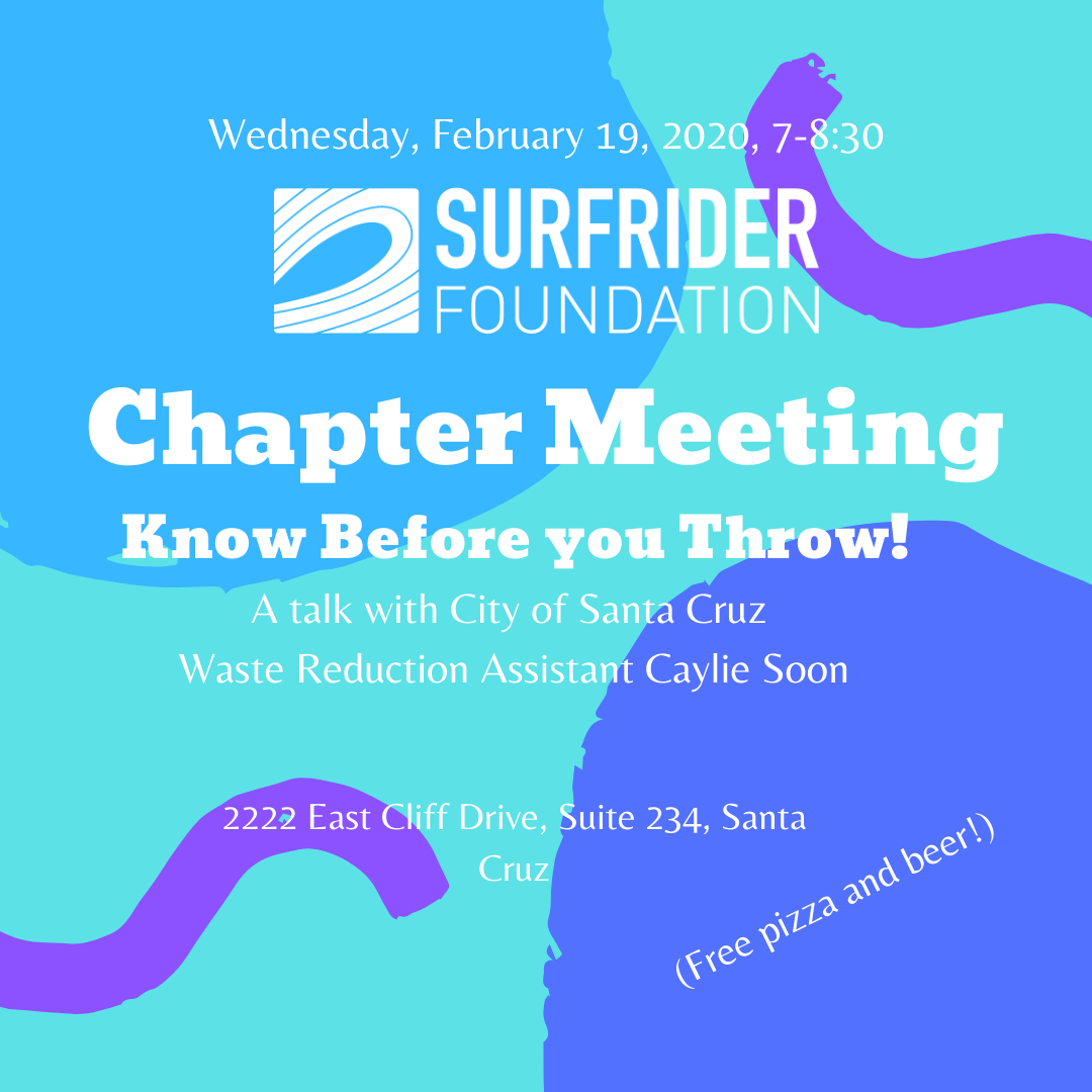 Chapter Meeting: Know Before You Throw